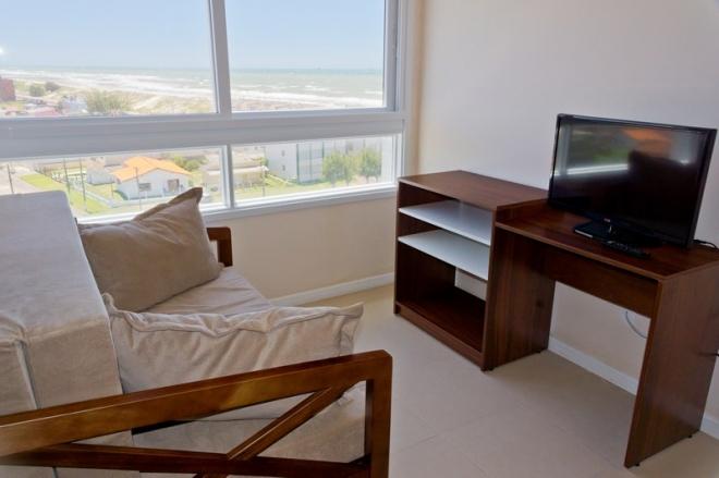 Sala de apartamento na Colônia de Tramandaí