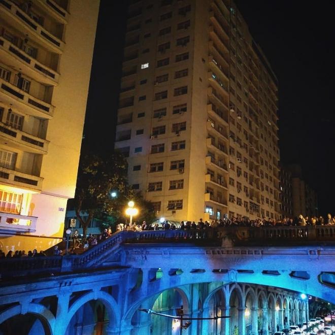 Ato em Porto Alegre