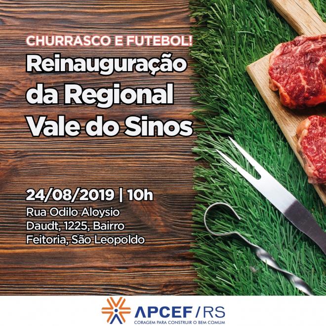 Reinauguração da APCEF em São Leopoldo