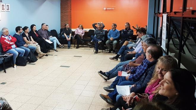 Reunião na sede da APCEF
