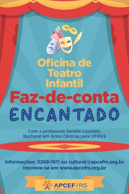 Oficina de teatro infantil