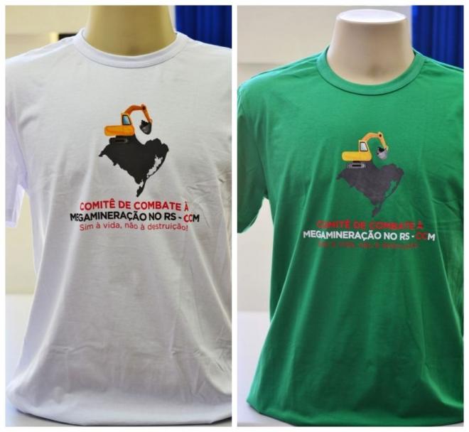 Camisetas do CCM/RS