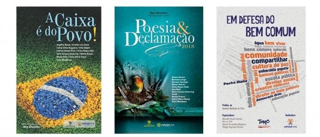Livros lançados pela APCEF/RS em 2018