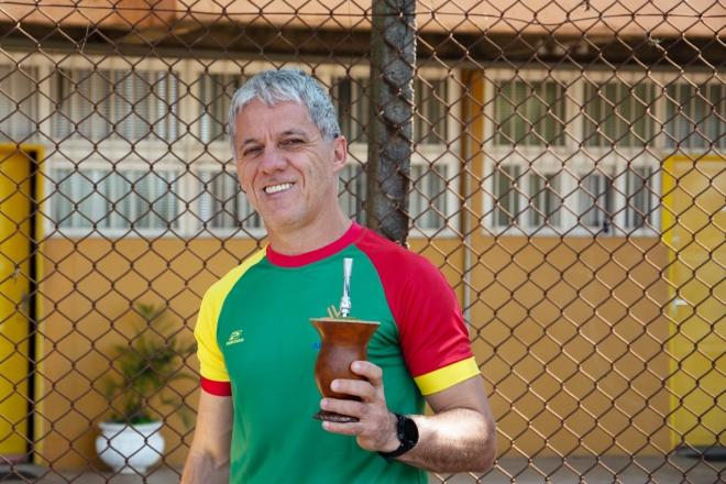 Paulo Pasqualotti nos Jogos Fenae 2018. Foto: Nilo Motta