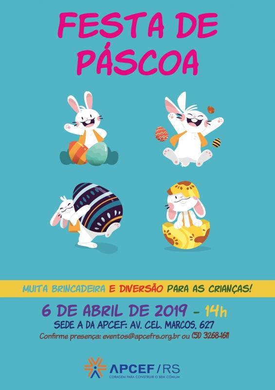 Festa de Páscoa 2019