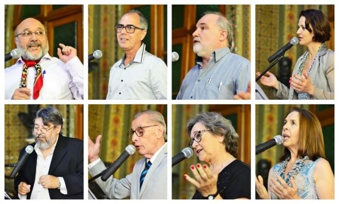 Poetas da edição anterior da oficina