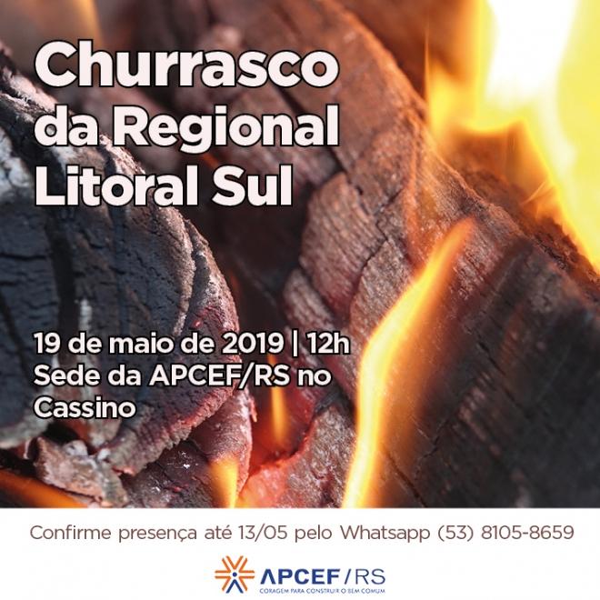 Churrasco da Regional Litoral Sul