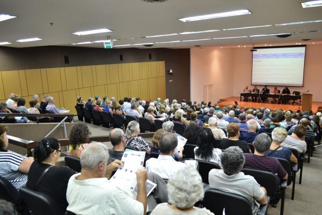 Reunião de Aposentados/as em 2018